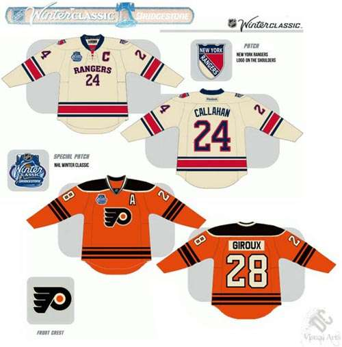 Are These The 2012 Winter Classic Jerseys?