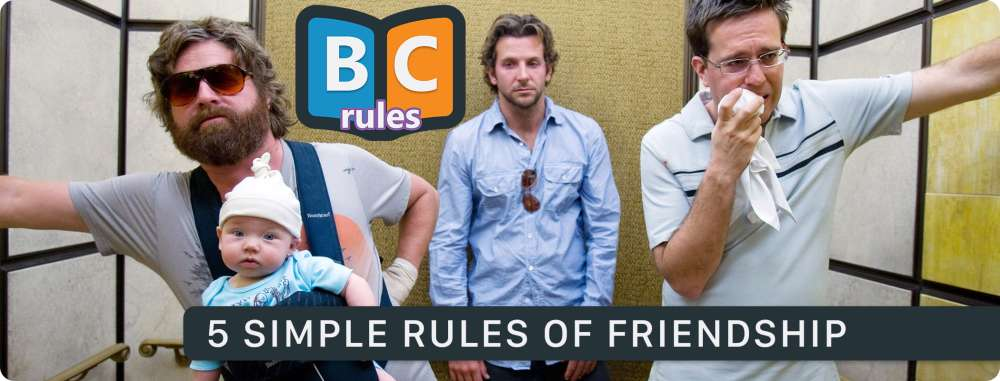 5 Simple Rules Of Friendship That Every Guy Should Follow