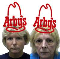 Women Steal Art From Arby's?