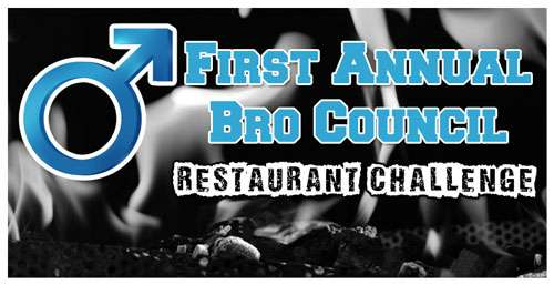 Announcing The 2011 Bro Council Restaurant Challenge