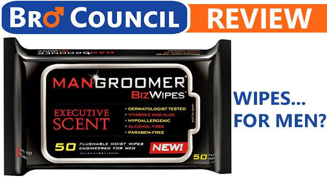 Review: Mangroomer Biz Wipes (Baby Wipes For Men)