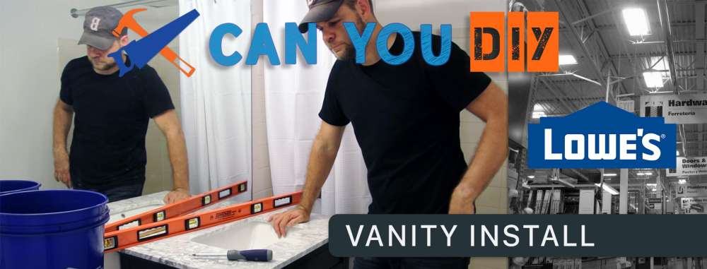 Can You DIY: Installing A Bathroom Vanity
