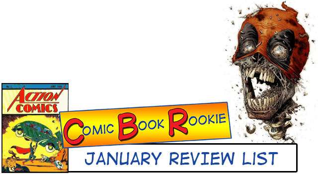 Deadpool And Zombies - January 2014 Comic Book Rookie