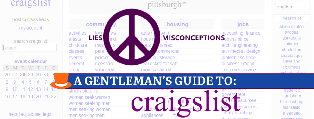 Clearing Up The Misconceptions And Lies About Craigslist