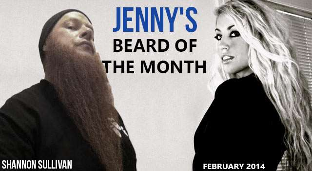 Jenny's Beard Of The Month - Shannon Sullivan