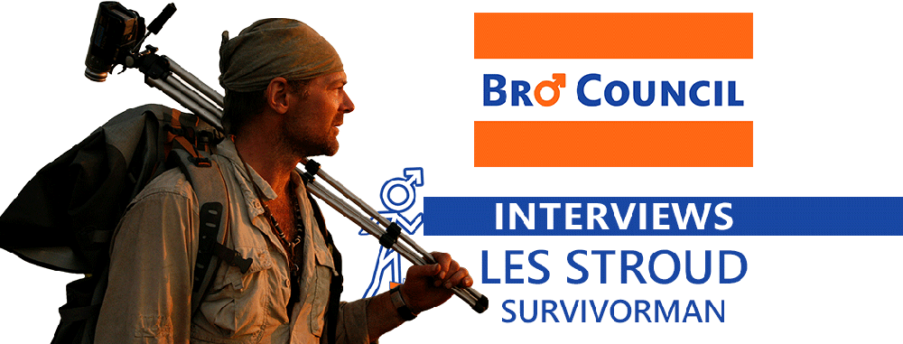 Survivorman Les Stroud: A Bro Council Interview