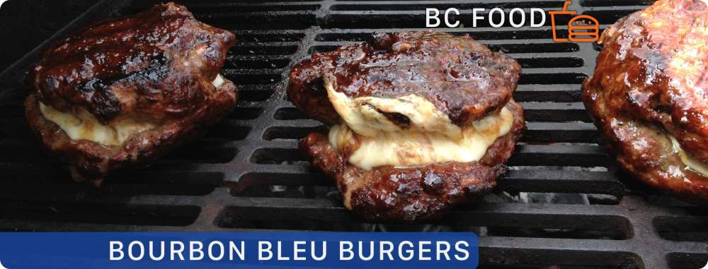 Killer Food: Bourbon Bleu Burgers
