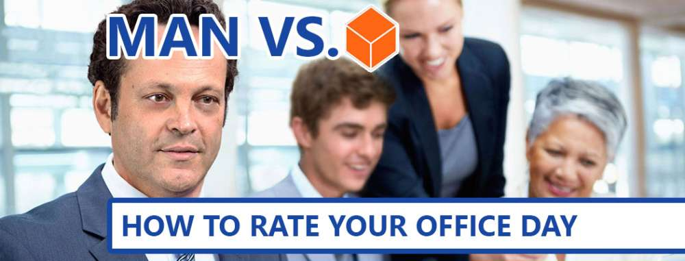 Man Vs. Cube: How To Rate Your Office Day
