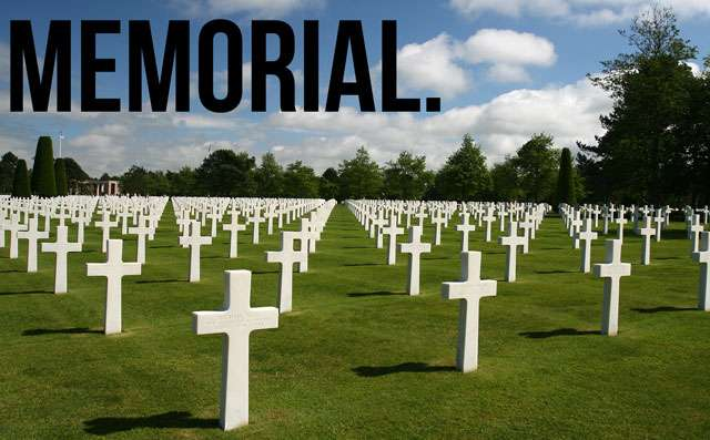 Memorial Day - Thank You For The Ultimate Sacrifice