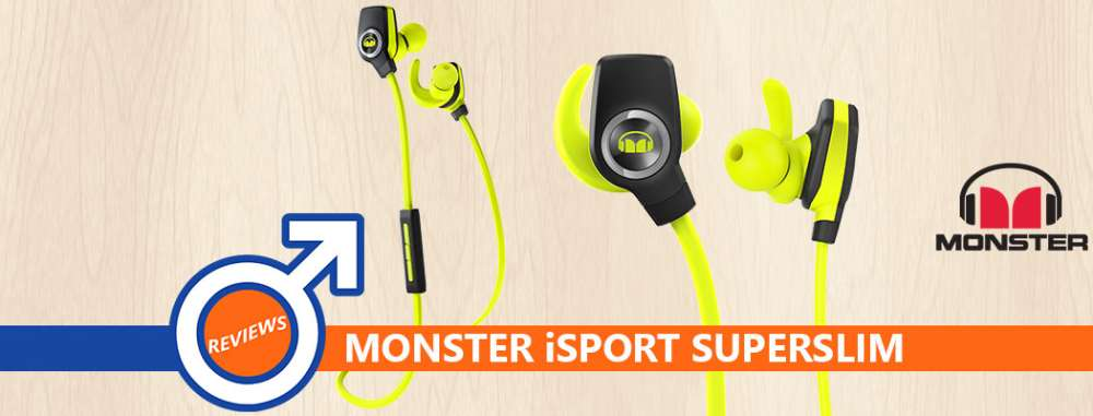 Review: Monster iSport Super Slim Wireless Headphones