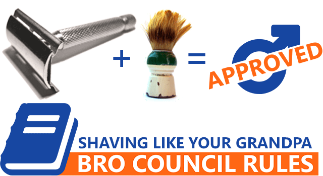 Shaving Like Your Grandpa - Old-School Style