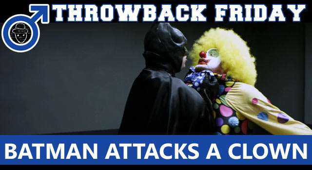 Throwback Friday: Batman Interrogates A Clown
