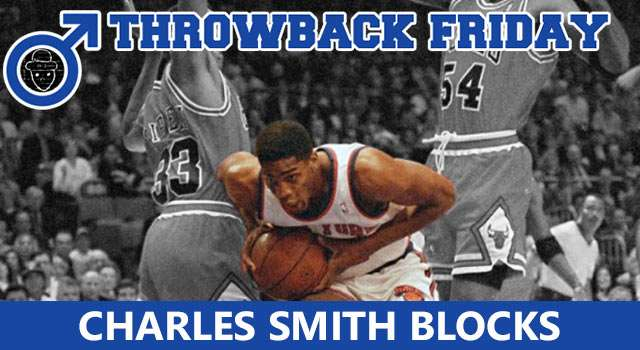 Throwback Friday: Charles Smith Gets Blocked - 4x