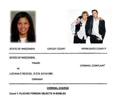 Technical College Student Copies Wedding Crashers - Gets Jail Time
