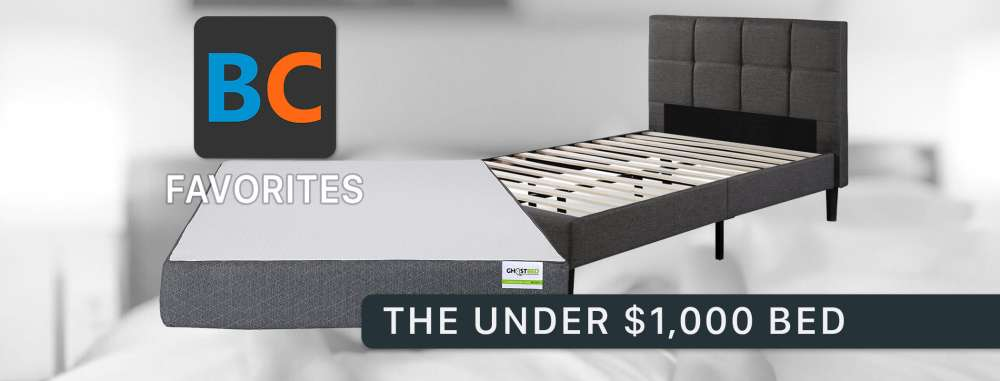 The Perfect Bed Under $1,000