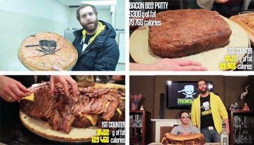 This Burger Could Probably Eat You