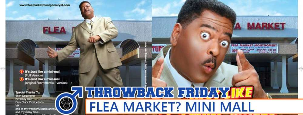Throwback Friday: Flea Market? Mini Mall