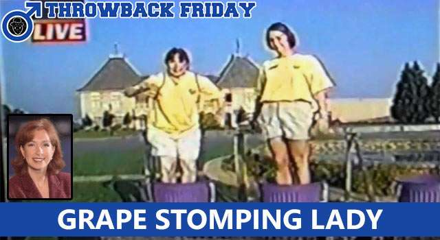 Throwback Friday: What Happened To The Grape Stomping Lady?
