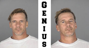 donald gartner mug shot arrest twice