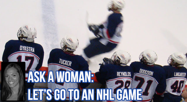Ask A Woman Hockey