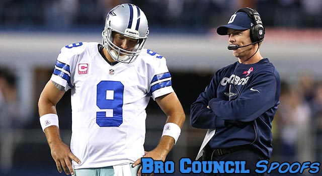Jason Garrett Ices His Own Kicker, Tony Romo Supports Him