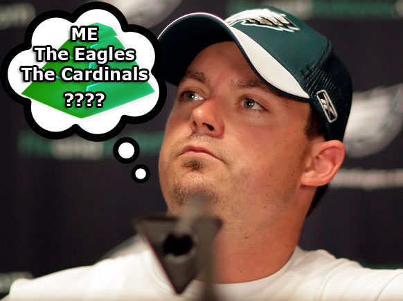 Kevin Kolb Dreams Of His Pyramid Scheme