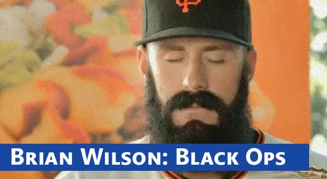 Brian Wilson Black Ops Commercial