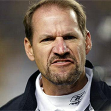 "Nothing says ""look at my chin and how angry I am"" like The Bill Cowher"