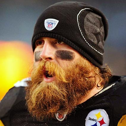 And finally if (and only if) you're Brett Keisel, you can do this.