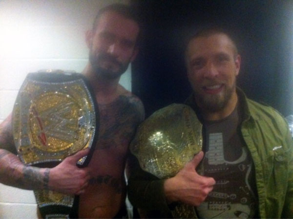 Daniel Bryan and CM Punk