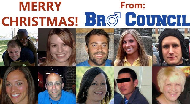 Merry Christmas, From Bro Council