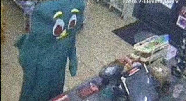 Gumby Turns Himself In: May Go To The Pokey