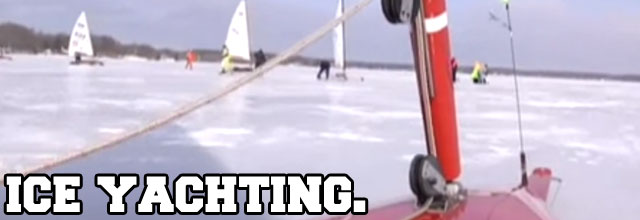 ice-yachting