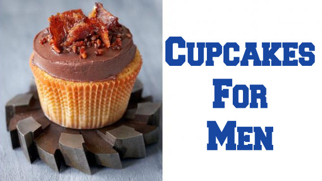 Cupcakes For Men: Whiskey And Bacon