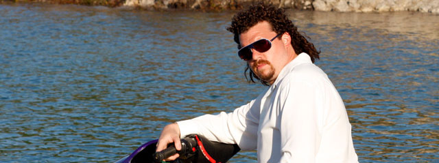 Kenny Powers Skiing