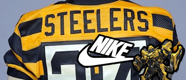 sale retailer 86f59 ff4d1 Pittsburgh Steelers Throwback Jerseys - Bumblebee Approved