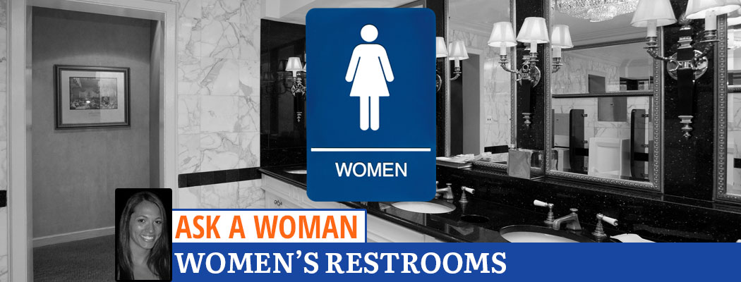 Ask A Woman: Why Are Women's Restrooms Nicer?