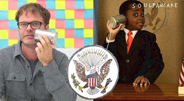 Kid President Meets Rainn Wilson (Williams)