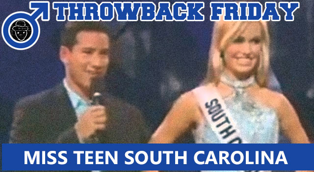 Throwback Friday: Miss Teen South Carolina Speaks