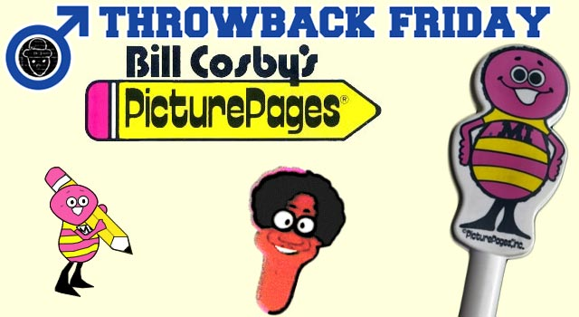 Throwback Friday: Bill Cosby's Picture Pages
