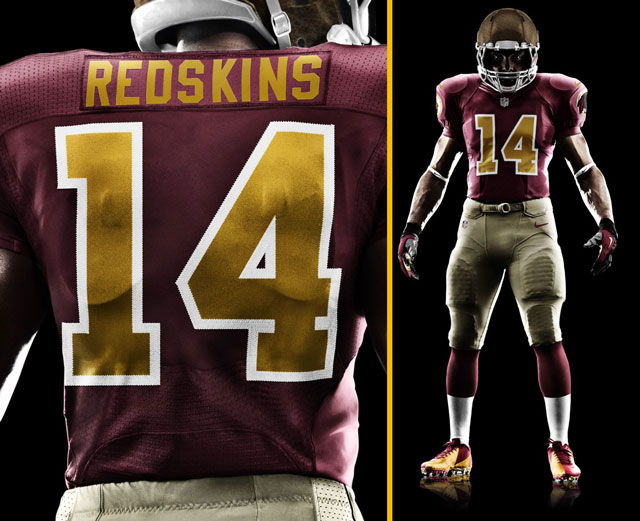 big sale 06cee 706b9 The Redskins New Throwback Uniforms And Helmets