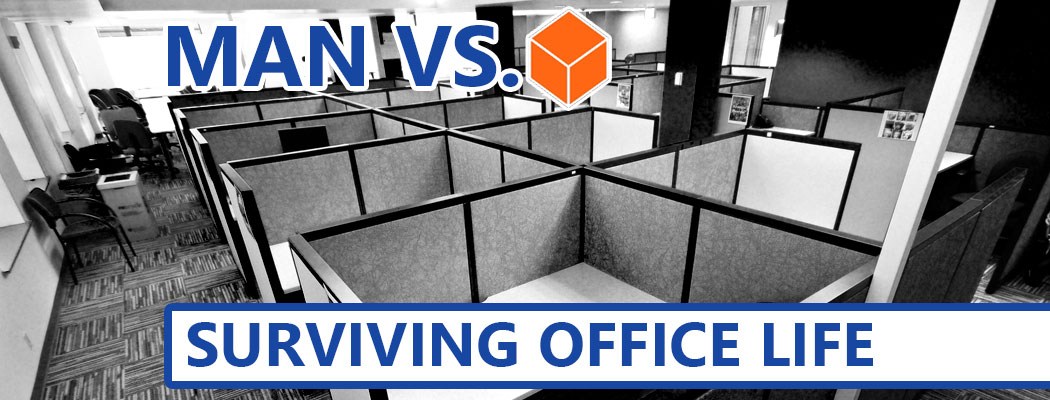 Man Vs. Cube: A Guide To Surviving An Office