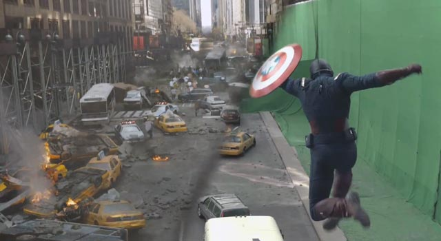 Watch The Filming Of The End Of The Avengers