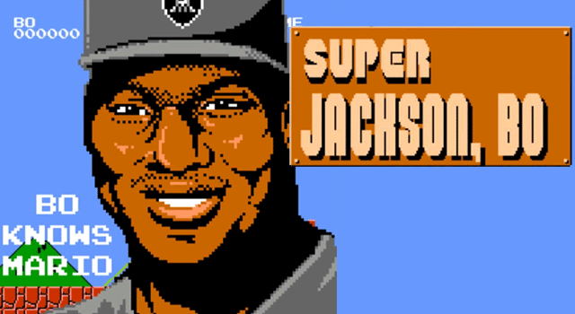 Bo Jackson In Mario Brothers Is Amazing