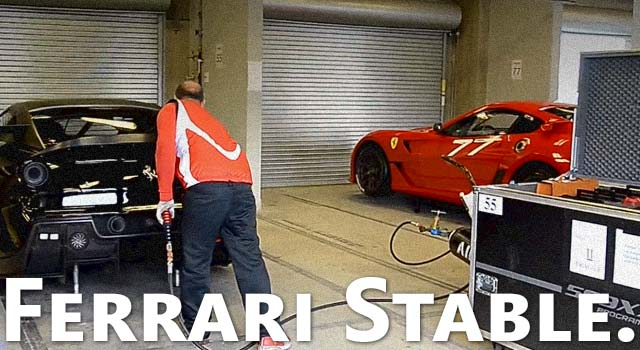 Ferrari's Horsepower Stable