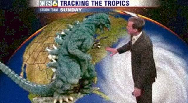 how to make a fake weather report