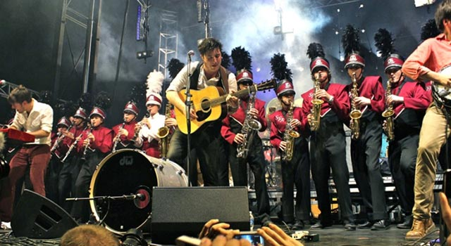 Mumford + Sons + Marching Band