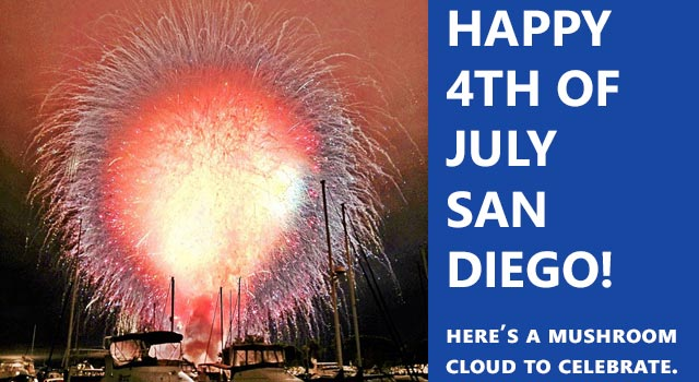 San Diego Sets Off All Their Fireworks At Once