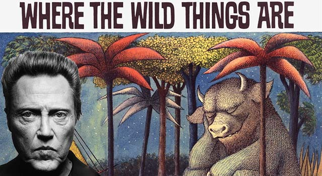 Christopher Walken Reads Where The Wild Things Are