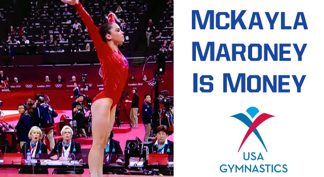 "McKayla ""Money"" Maroney Drops Jaws At The Olympics"